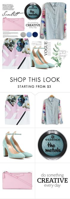 """""""254"""" by erohina-d ❤ liked on Polyvore featuring Preen, Valentino, Givenchy, WALL and Burberry"""