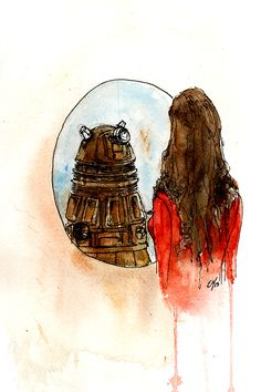 """""""I'm Human""""    Are you, Clara? Are you?! Cause I'm still not sure which way this is going  Etsy"""