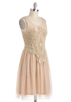I know it's the wrong color, i just thought it was cute. Bohemian Belle Dress, #ModCloth