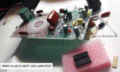 900W Class-D Next Generation Power Amplifier Circuit