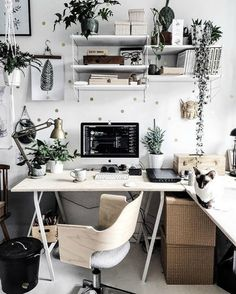 Whether you work from home or in a high rise, in a cubicle or corner office, feeling comfortable, inspired, and productive is important in your work space. We decoration for home 12 Real Desks So Gorgeous They'll Inspire You to Make Over Your Workspace