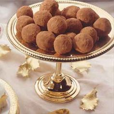 Irish Cream Truffles from Land O'Lakes