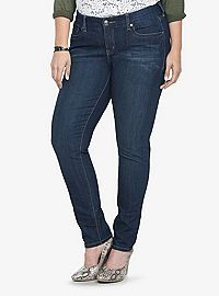 9a0e86f32fc63 COM - Torrid Denim - Dark Wash Curvy Skinny Jeans (Regular) size18