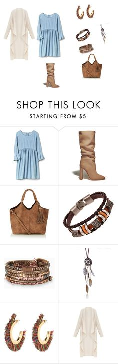 """бохо+женственный"" by sorokina-d on Polyvore featuring Gianvito Rossi and Stella & Dot"