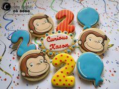 Curious George Cookies                                                                                                                                                                                 Más