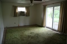 """You'd be amazed what the """"AFTER"""" picture looks like for this room's transformation"""
