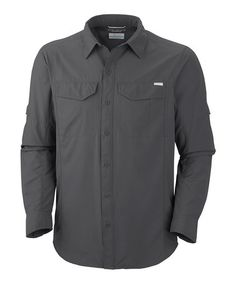 Loving this Grill Silver Ridge Long-Sleeve Button-Up on #zulily! #zulilyfinds