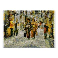 Streets of Kyoto by Impressionist Heart