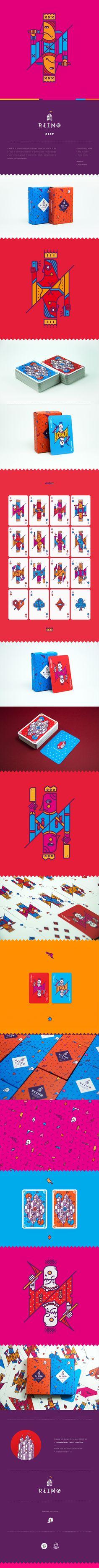 REINØ es un proyecto de naipes ilustrados creado por Jorge De la Paz que nace en función de transformar un elemento común como es un naipe y darle un valor agregado de ilustración y diseño. Autogestionado en conjunto con Coraje Estudio.