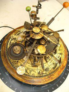 Steampunk Time Machine Assemblage by urban don, via Flickr