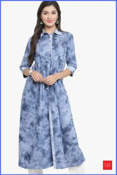 8 Best Denim Kurtis Available In India #WomenFashion #WomenWear #Kurtis #DenimDress
