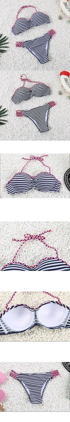 Cheap swimsuit tankini, Buy Quality swimsuit shorts for women directly from China swimsuit 2011 Suppliers: Triangle Bottom Bikini Set Sexy Strip Top Design Swimwear Women Bathing Suit Push Up Brazilian Bikini 2017 Girls Beachwear Brazilian Bikini, Phone Accessories, Home And Garden, Band, Shopping, Fashion, Moda, Sash, Fashion Styles