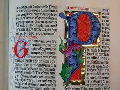 "lettera P miniata tratta dai 4 vangeli.Ivano Ziggiotti 2001 2 | Flickr - Photo Sharing! - Illuminated ""P"""