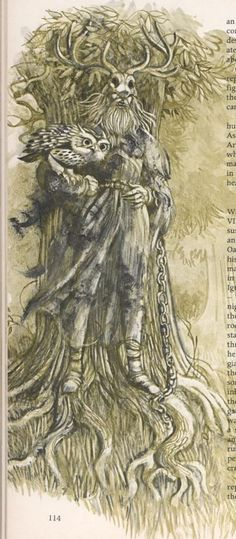 ghost story (folklore) | Illustration depicting Herne the hunter, a famous ghost story and ...
