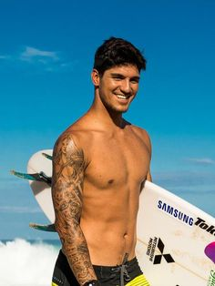 "Gabriel ""Gabby"" Medina: 2 Times World Champion Gabriel, Cone Bra, Jean Paul Gaultier, Cute Guys, Madonna, Hot, Natural Hair Styles, Surfing, Feelings"