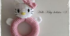 Noniin, sain kirjattua teille ylös ohjeen Hello Kitty-helistimeen. Yhden tällaisen virkkasin jo aiemmin ja nyt valmistui toinen kaverini pyy...