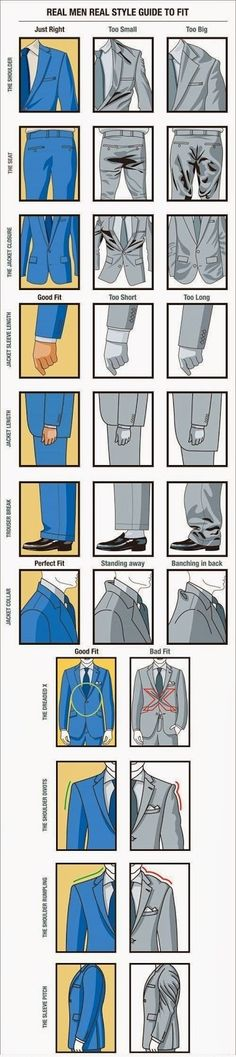 Amazing Pictures & Photography: Real Men Real Style Guide To Fit