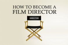 Via data analysis and interviews with over 200 film professionals, here are some tips to help you become a film director.