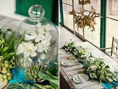 Vintage Style Smaragd Grün Hochzeit Dekoration Ideen wedding planner Hochzeitsfotos Lebendige Smaragd Grün Hochzeit Inspiration – Ideen für Hochzeiten 2014