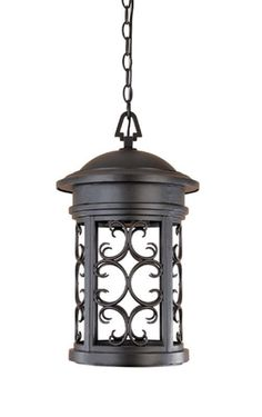 """Designers Fountain 31134-ORB 1 Light 11"""" Hanging Lantern from the Dark Sky Barri Oil Rubbed Bronze Outdoor Lighting Wall Sconces Outdoor Wall Sconces #Wall-HangingFountains"""
