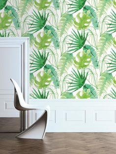 Graham&Brown behang, tropisch motief | ELLE Decoration NL