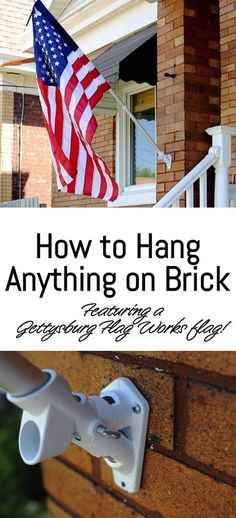 How to Hang Anything on Brick