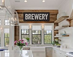 Bring a little fixer upper flair into your home with this vintage-look canvas BREWERY sign for your home or mancave - did someone say #shiplap? Comes in two sizes in your choice of background colors. How to Order: 1. Choose Size 2. Choose Colors: Please leave a message in the note to laurenmaryHOME area at checkout. You can choose your background color and your letter color. Colors shown in listing photos are white background with black letters, black background with white letters, and…