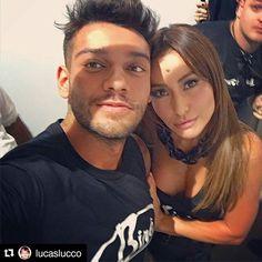 Olha eles, @lucaslucco e @sabrinareal no backstage do desfile de hoje  #UsoBiro… Biro, Instagram Posts
