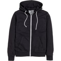 Hooded Jacket $24.99 ($25) ❤ liked on Polyvore featuring tops, hoodies, zippered hooded sweatshirt, ribbed top, zipper hoodies, zip sweatshirt and hooded sweat shirt
