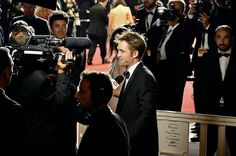 Rob at the red carpet on Cannes film festival 2017