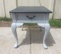 Merveilleux Annie Sloan Painted End Table By ToadHouseCreations On Etsy