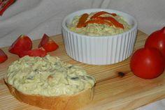 Retete Culinare - Salata de vinete cu ardei si ciuperci a la Gaby