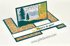 12 March 2021 Paper Pumpkin: Here's to You Alternative Projects + VIDEO ~ www.juliedavison.com #stampinup #paperpumpkin Fancy Fold Cards, Folded Cards, Paper Pumpkin, Heres To You, Stampin Up, Projects, Project Ideas, Creative Inspiration, Alternative