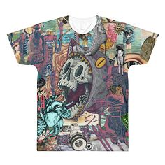 Colorful Art Shirt XLIV