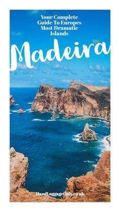 The Complete Guide Of Things To See, Do And Eat In Madeira - carolin Travel Goals, Travel Advice, Travel Guides, Travel Tips, Visit Portugal, Spain And Portugal, Backpacking Spain, Places To Travel, Places To Visit