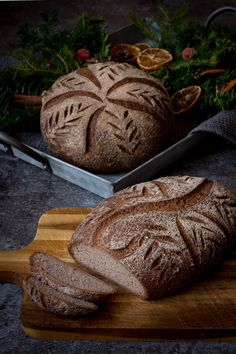 Christmas Bread, Vegan Christmas, Grain Foods, Foods With Gluten, Bread Recipes, Vegan Recipes, Gluten Free Living, World Recipes, Scandinavian Christmas