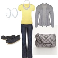 Casual Outfit, created by amyshopper