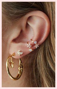 72 Ear Piercing For Women Cute And Beautiful Ideas - The Finest Feed - 72 Ear P. - 72 Ear Piercing For Women Cute And Beautiful Ideas – The Finest Feed – 72 Ear Piercing For Wom - Ear Jewelry, Jewelry For Her, Cute Jewelry, Jewelery, Jewelry Ideas, Druzy Jewelry, Jewelry Supplies, Jewelry Making, Bar Stud Earrings