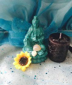 Quan Yin figurine Kwan Yin Goddess of Mercy by TriquetraBoutique