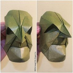Quick little face study from earlier today. Origami, Face Study, Joseph, Masks, Do It Yourself, Paper Art, Paper Envelopes, Origami Art