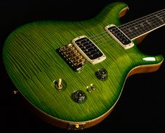 PRS Signature Limited. Color is 'Eriza Verde'. This guitar is absolutely gorgeous.