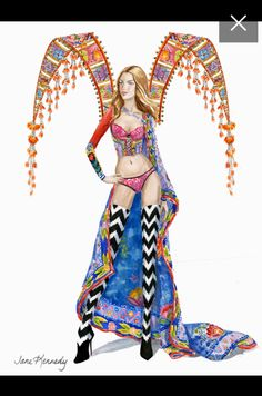 Martha Hunt The Road Ahead segment (Drawing by Jane Kennedy) Jane Kennedy, Martha Hunt, Princess Zelda, Disney Princess, Style Icons, Disney Characters, Fictional Characters, Victoria's Secret, Drawings