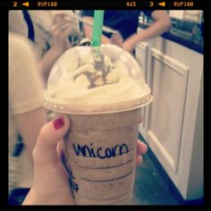 My starbucks drink!
