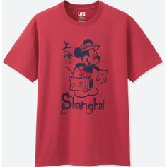c399787b55fd5 UNIQLO Men s Mickey Travels Short-sleeve Graphic T-Shirt ( 15) ❤ liked