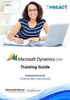 Our training guide for Microsoft Dynamics CRM. Information about our suggested user and administration courses.