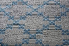 Irish-Chain-Quilt - nice non-traditional treatment.   Like it a lot.