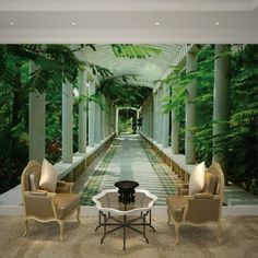 Fototapete Wald Motive Unikales Wohnzimmer Gestalten