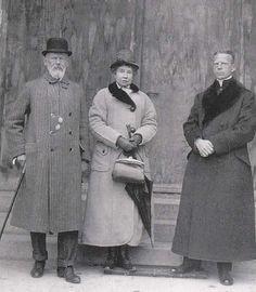 Gisela con il padre di Leopold Luitpold e il figlio Geroge che divenne prete