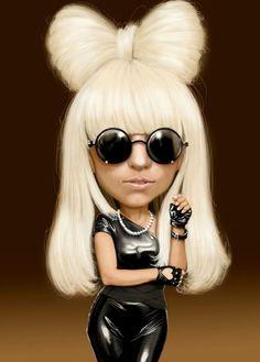 Lady Gaga  (by h. edward brooks):