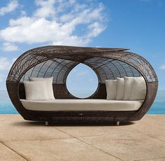 Spartan Daybed from Restoration Hardware. Saved to Home. Shop more products from Restoration Hardware on Wanelo. Pool Furniture, Furniture Design, Outdoor Furniture, Outdoor Decor, Outdoor Stuff, Outdoor Fun, Rattan Furniture, Outdoor Lounge, Outdoor Entertaining